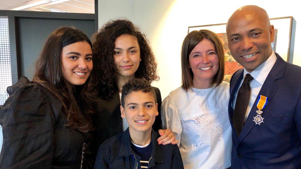 Humberto met zijn gezin