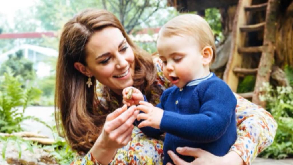 Prins William en Kate openen speciale tuin samen met hun kindjes