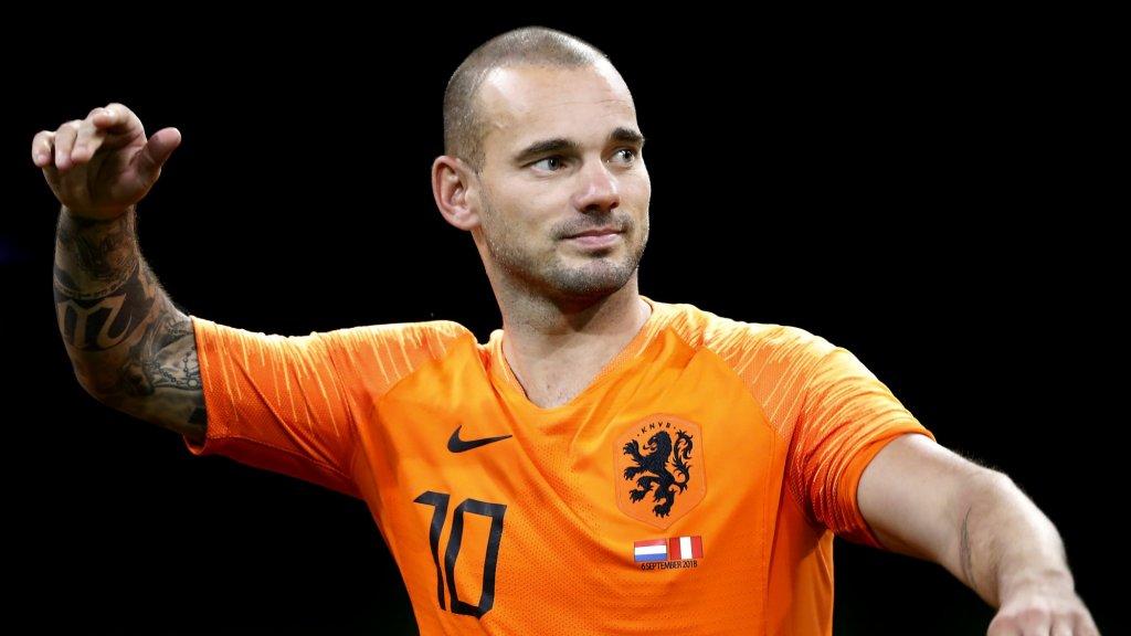 Wesley Sneijder beëindigt voetbalcarrière
