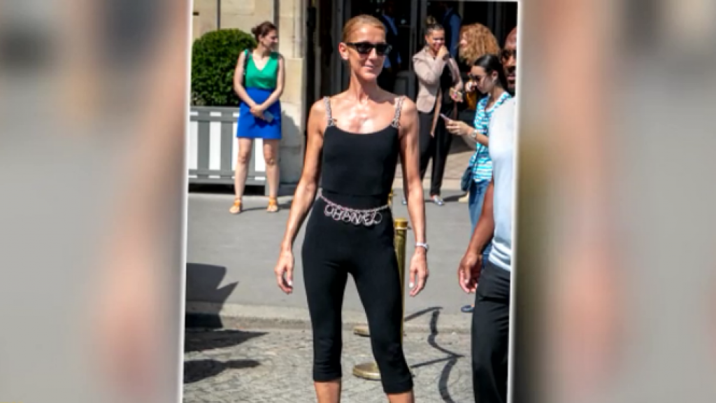 Céline Dion steelt de show tijdens Parijse Fashion Week