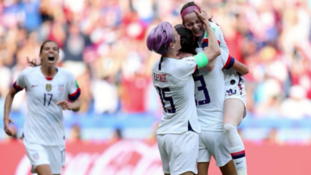 Verenigde Staten gaat ervandoor met winst WK