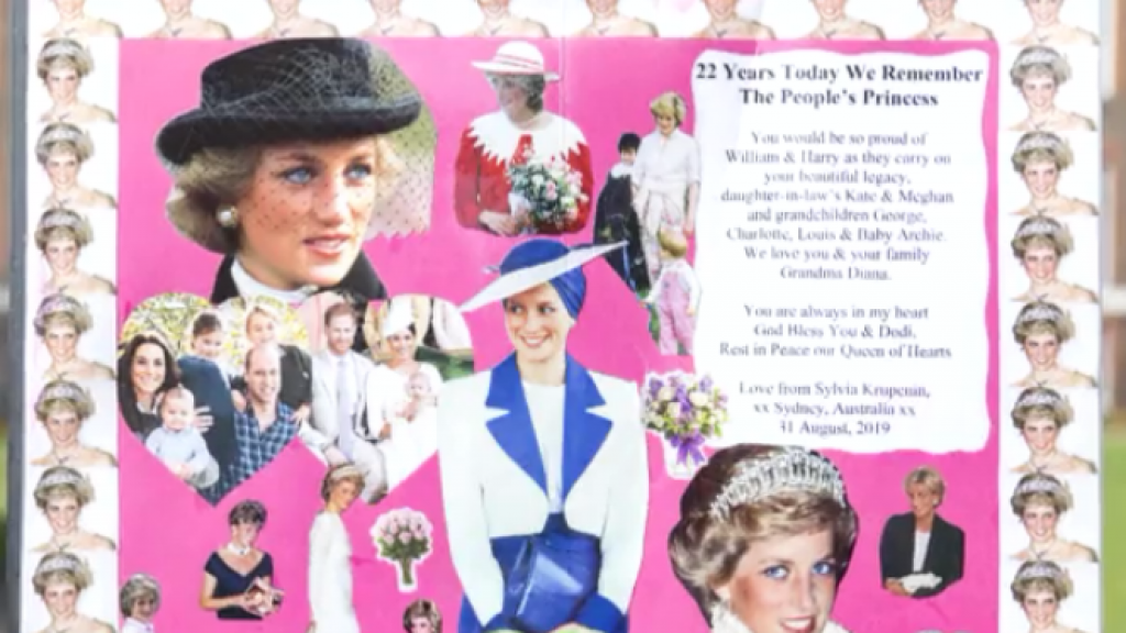 Prinses Diana alweer 22 jaar geleden overleden