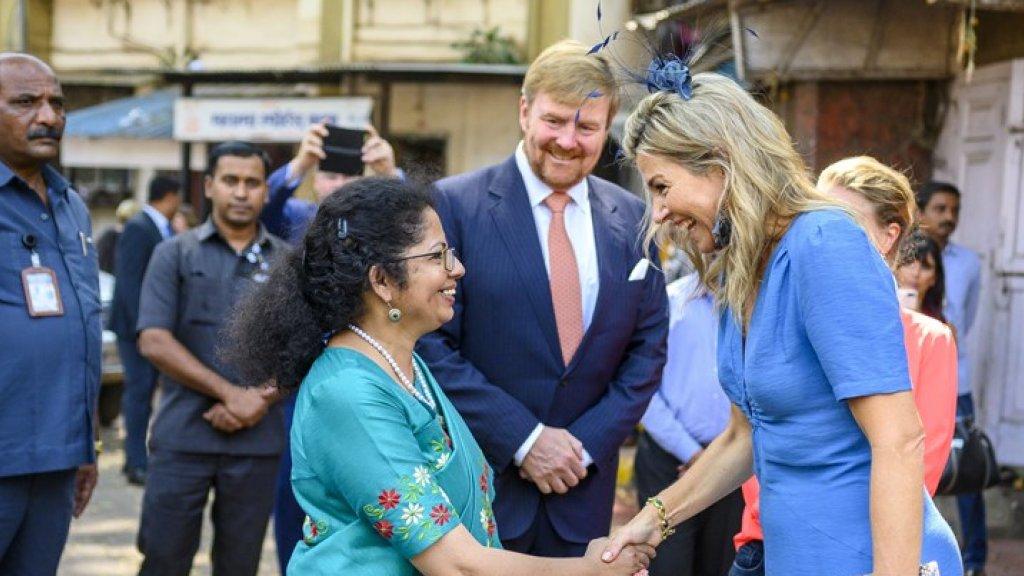 Praten met Máxima: Simran van armoede naar beste school Mumbai