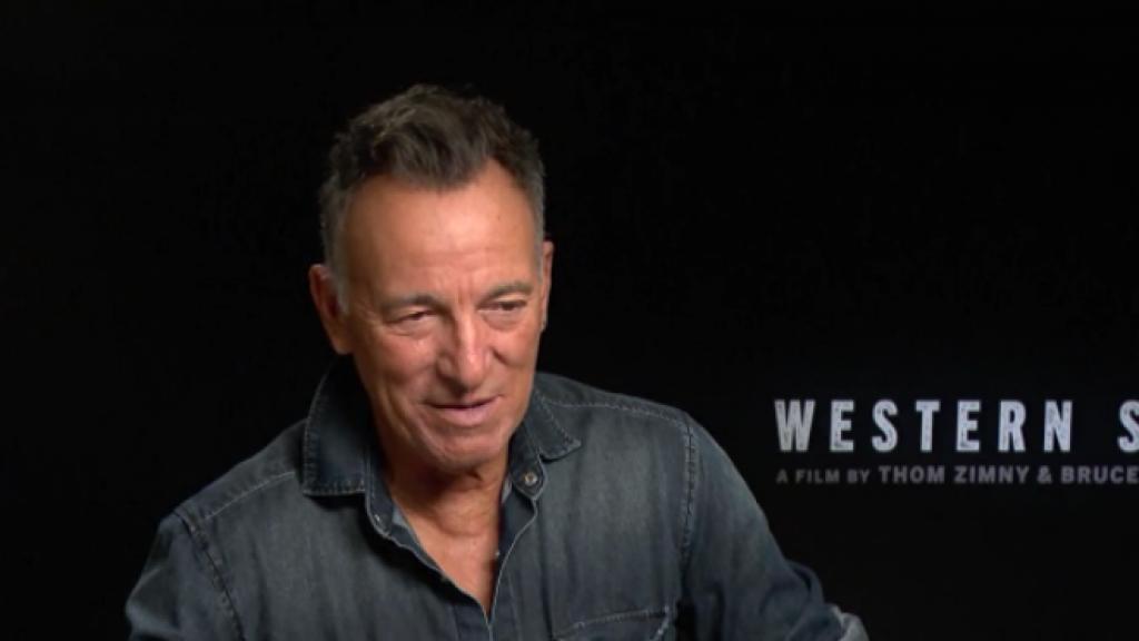 Gerard Ekdom mocht zijn grote idool Bruce Springsteen ontmoeten