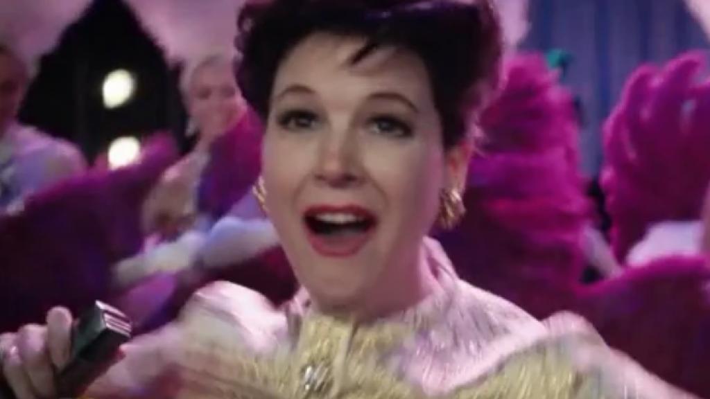 Renee Zellweger kruipt in de huid van Judy Garland
