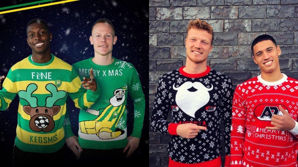 Kerst vier je met een foute kersttrui van ADO Den Haag