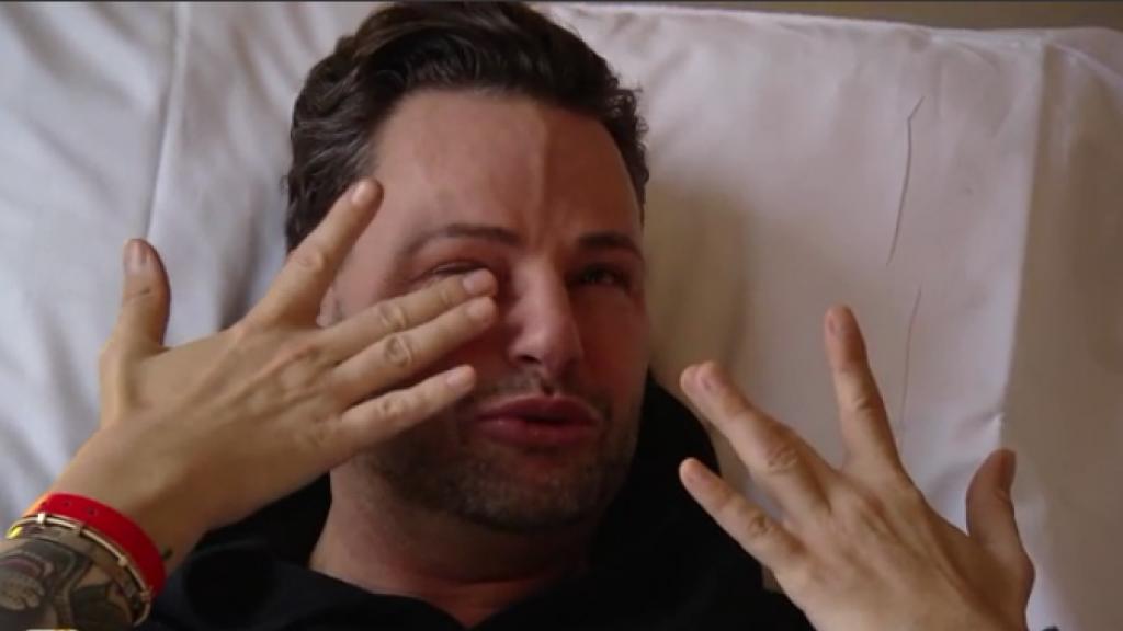 Fred van Leer zwaar geëmotioneerd na operatie