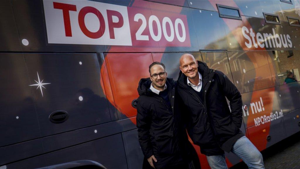 Radio 2-DJ's voorspellen hoge binnenkomers Top 2000