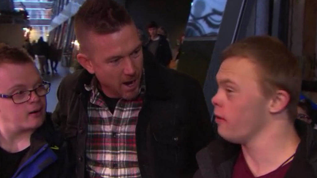 Johnny de Mol geniet van 'puurheid' Down met Johnny