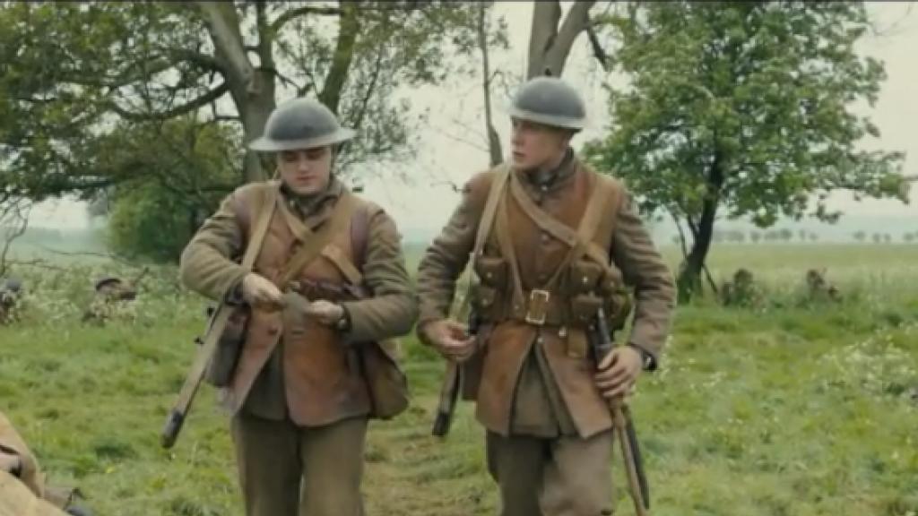 Oorlogsfilm 1917 is een bizar camera-experiment