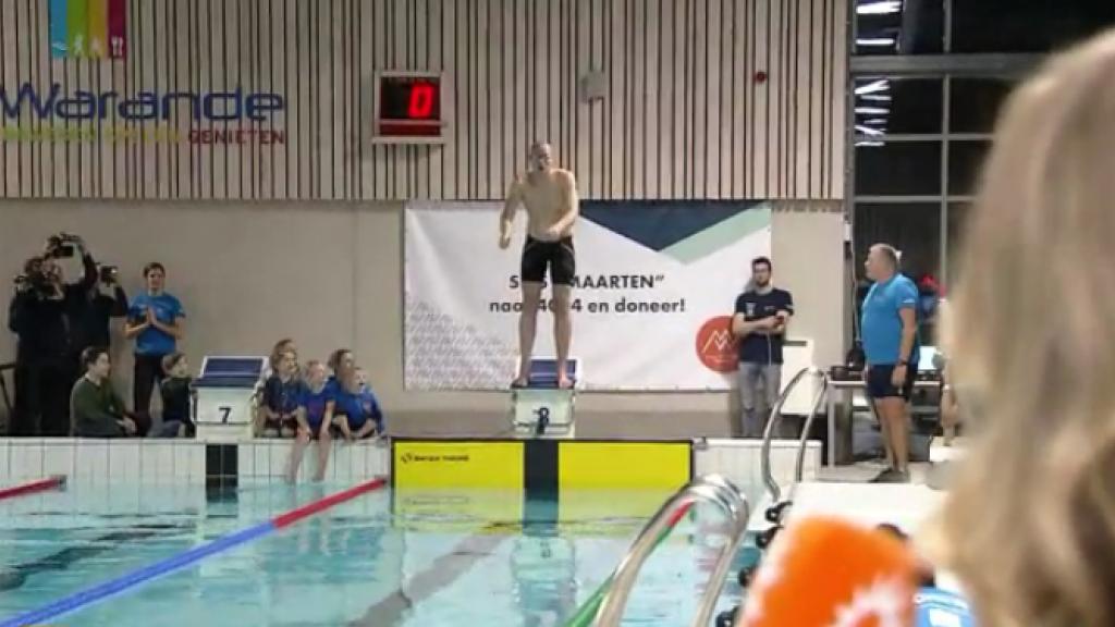 Maarten van der Weijden probeert wereldrecord te verbreken