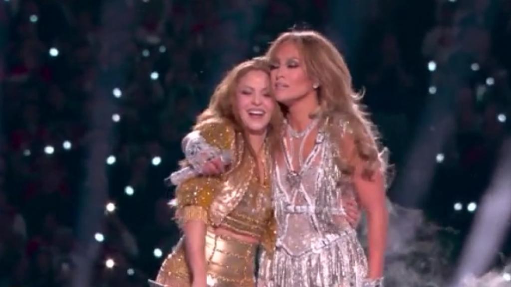 Shakira en Jennifer Lopez imponeren met Super Bowl-optreden