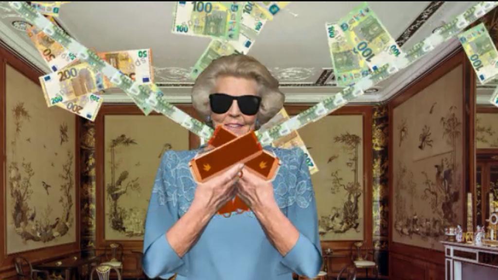 Prinses Beatrix maakt kleinkinderen in één klap multimiljonair