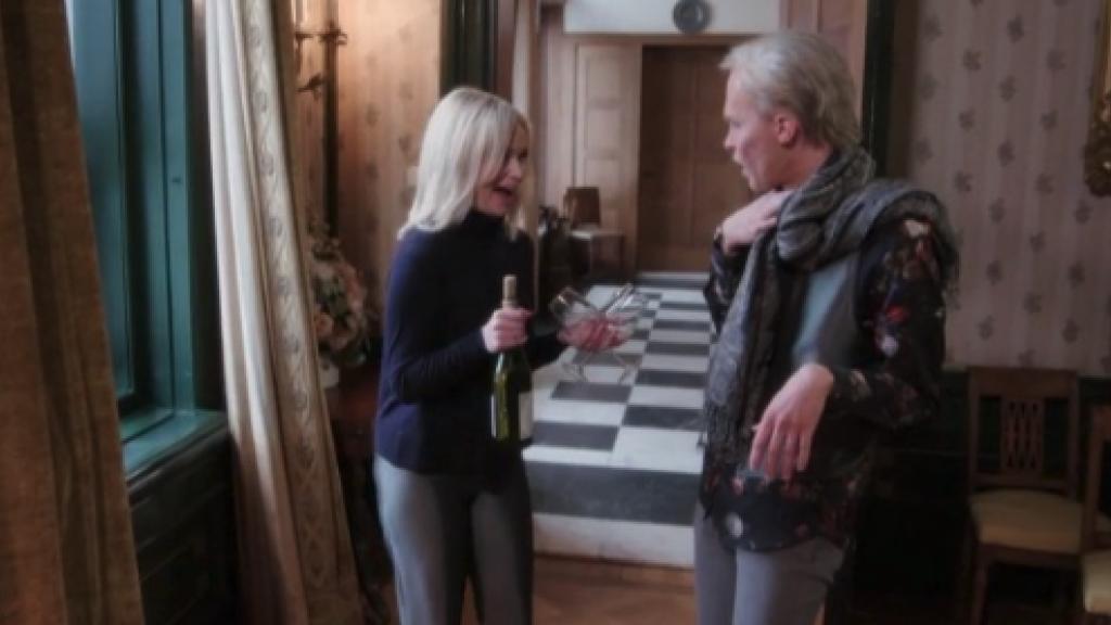 De TV Kantine tovert Chateau Meiland om tot Chateau Wijnland