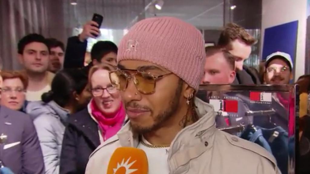 Lewis Hamilton vertelt wat hij van Max Verstappen vindt