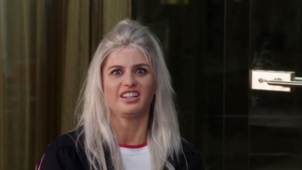 Britt Dekker is fan van persiflage in de TV Kantine
