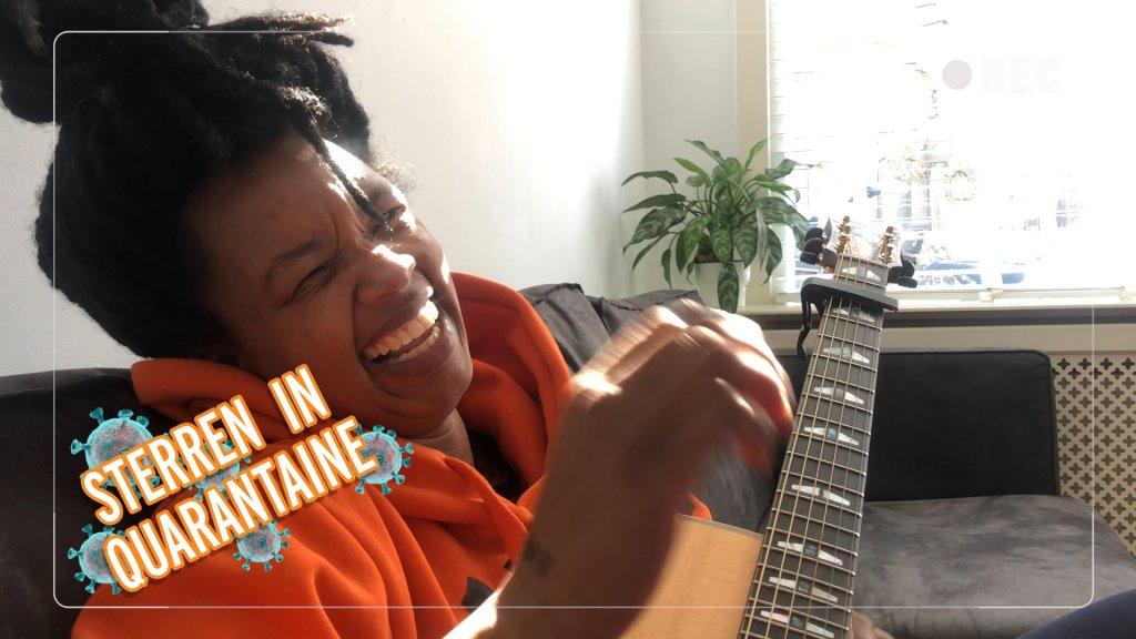 Sterren in Quarantaine: Shary-An ontpopt zich tot chef