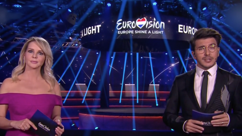 Chantal Janzen blikt terug op memorabele songfestivalshow
