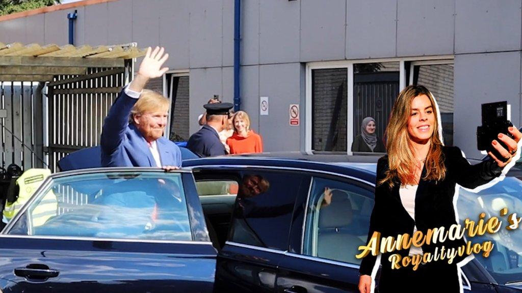 Annemarie's Royaltyvlog: Koning  weer aan het werk na foto-ophef