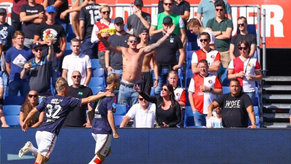De Feyenoordsupporters