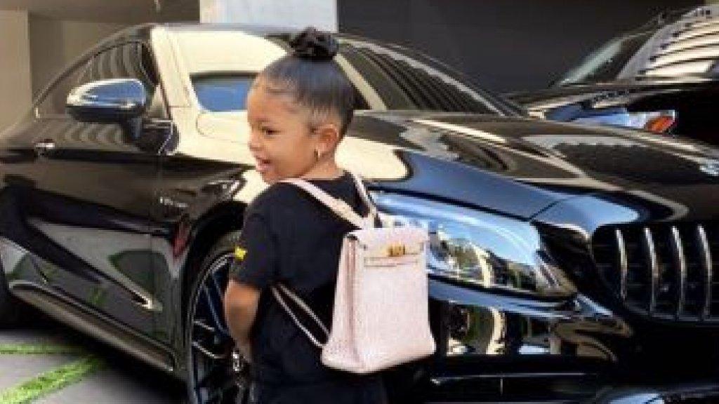 Kylie Jenners dochtertje Stormi