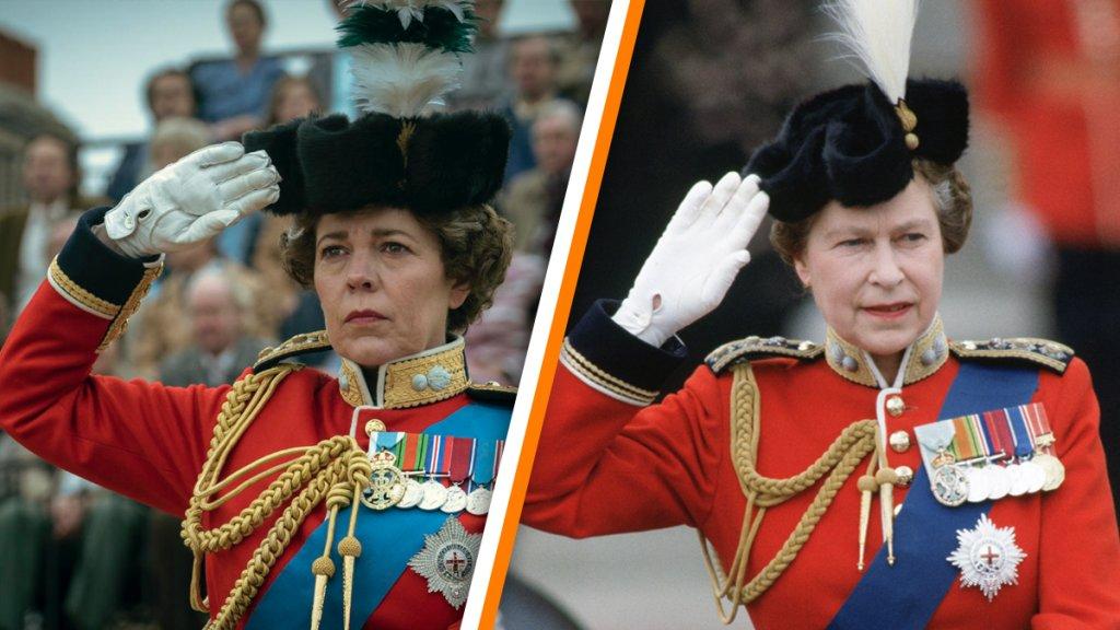 Olivia Colman in 'The Crown' en Queen Elizabeth