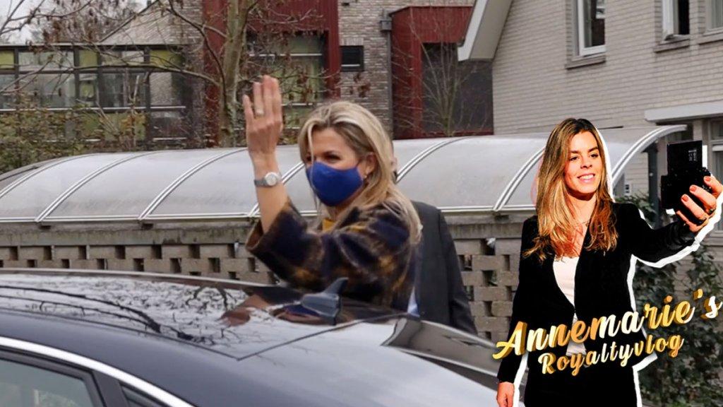 Annemarie's Royaltyvlog: Wat voor mondkapjes draagt Máxima?