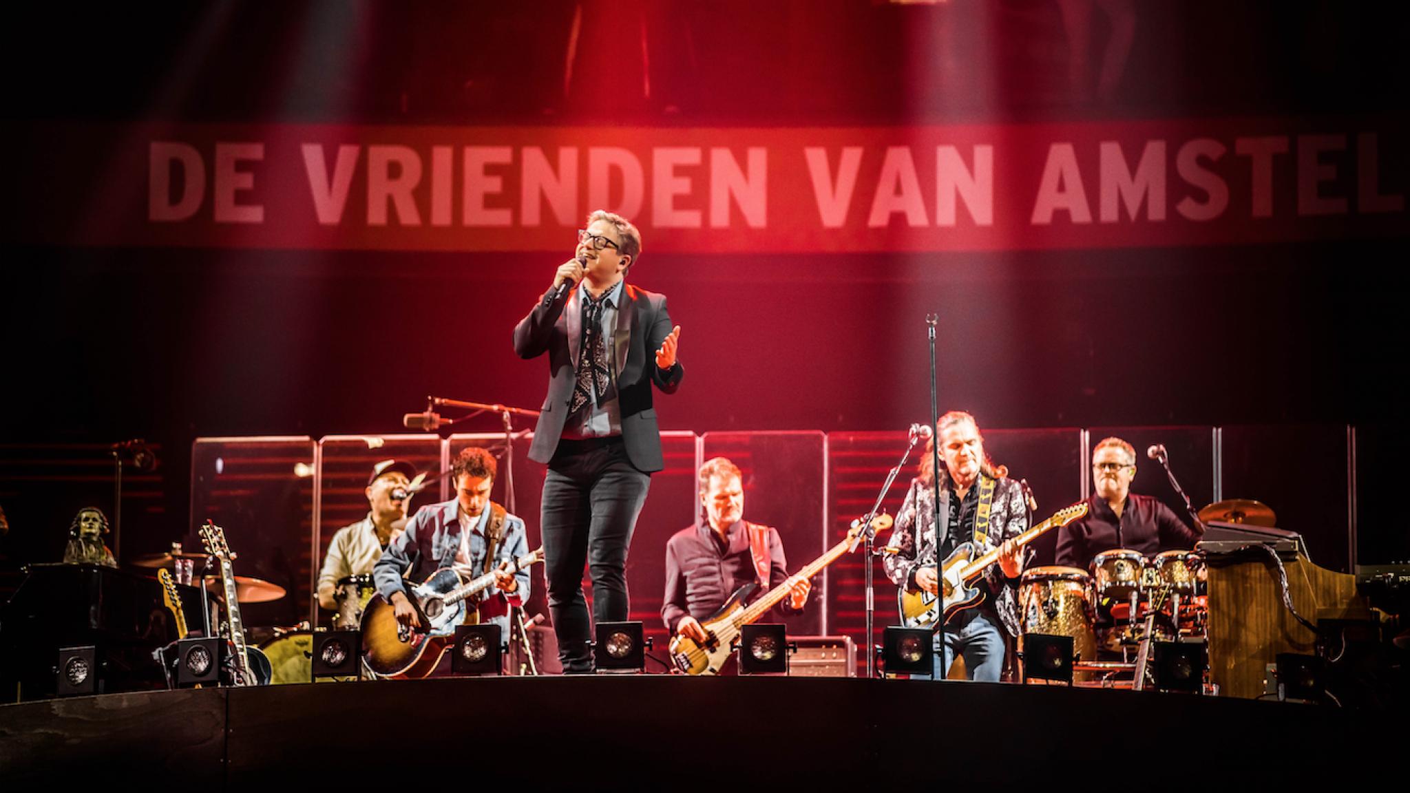 Duncan Guus En Andre Treden Op Tijdens Vrienden Van Amstel Live Rtl Boulevard