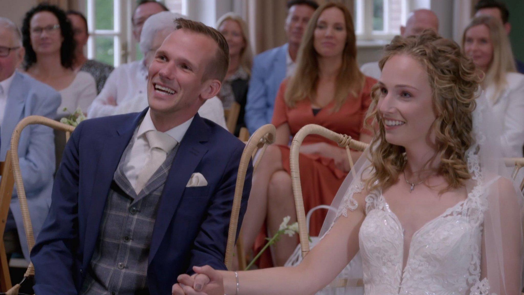 Ouders Lars uit Married at First Sight zien gezinsuitbreiding wel zitten - RTL Boulevard