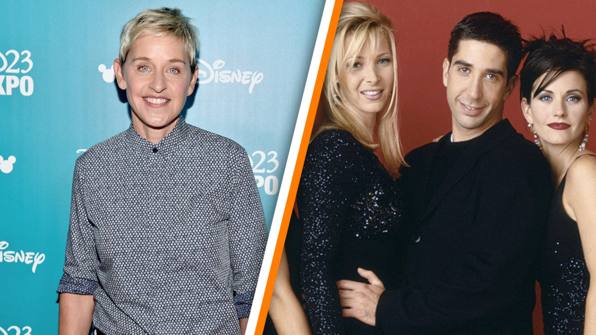 Ellen DeGeneres aan de kant geschoven als presentator Friends-reünie - RTL Boulevard