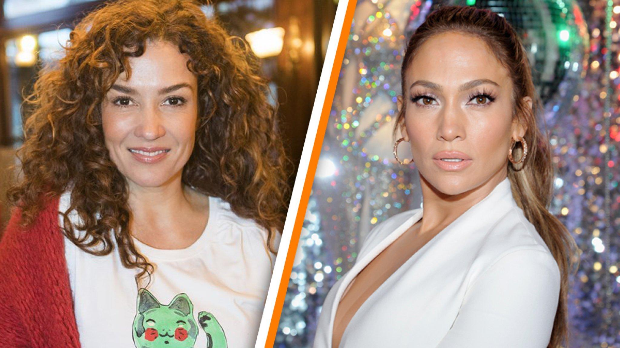 Katja Schuurman kan ogen niet geloven: 'Ik lijk op J.Lo' - RTL Boulevard