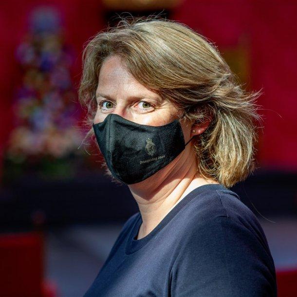 Speciaal voor Prinsjesdag 2020 is er een mondkapje ontworpen