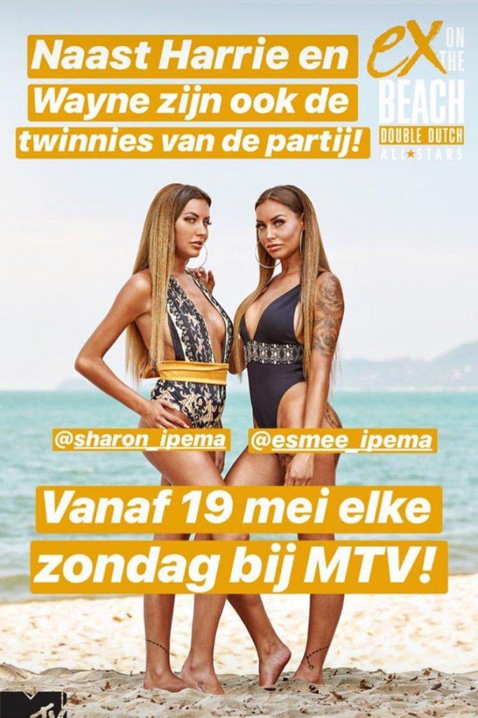 fff4d489c1e Tweeling Sharon en Esmee doen mee aan EOTB All Stars | RTL Boulevard