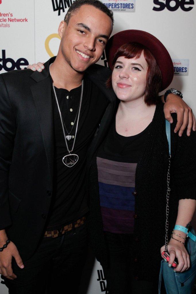Connor en Isabella in 2012