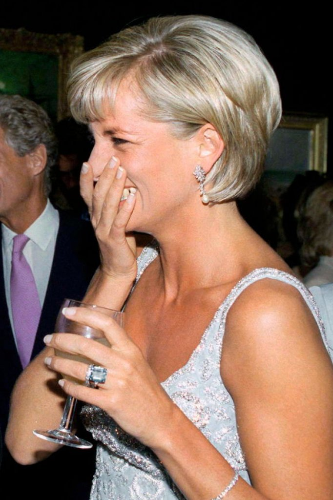 Prinses Diana met de armband