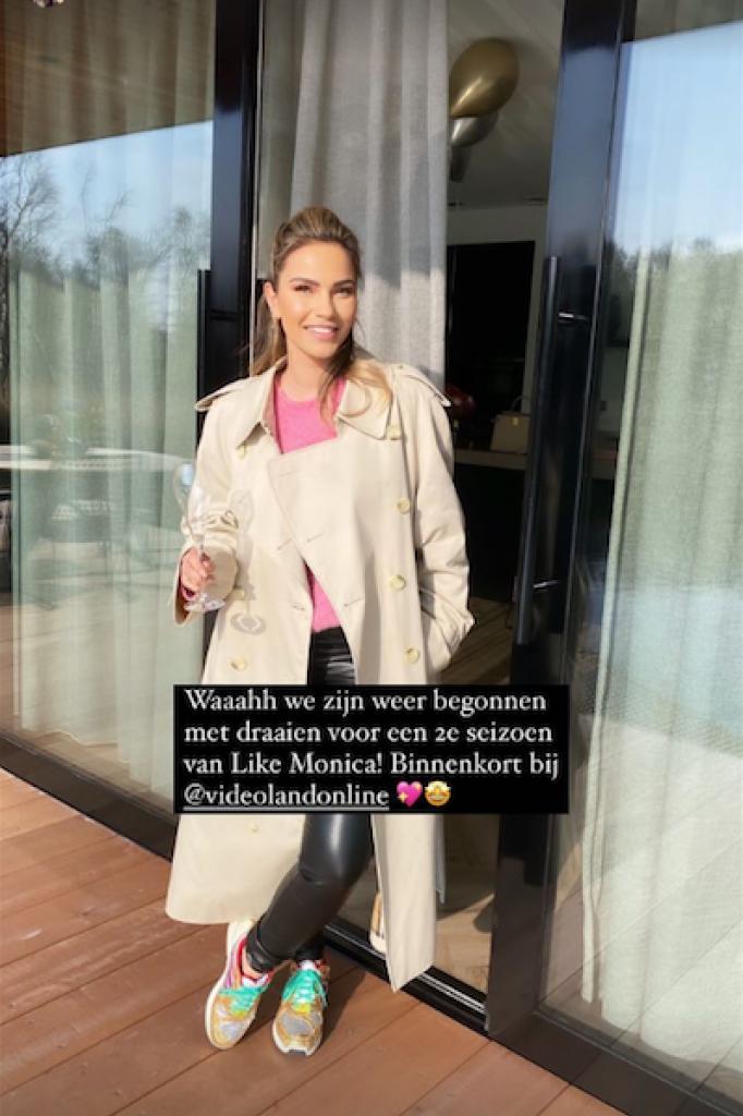 Monica Geuze op Instagram